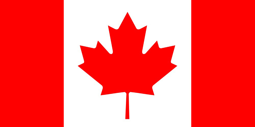 The colors of the Canada flag inspired the Holiday Classics™