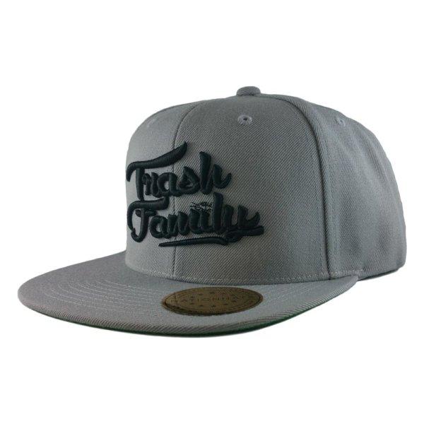 trash-family-custom-snapback-hat-silver-iso