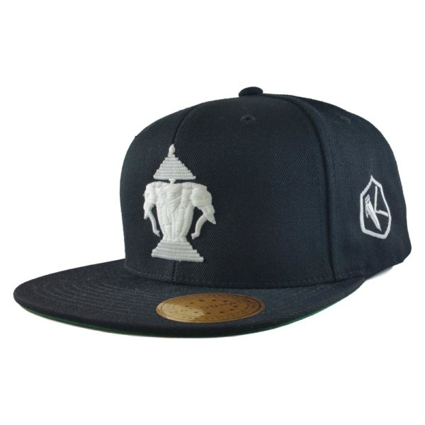 24-kuts-barbershop-laos-edition-custom-snapback-hat-black-iso