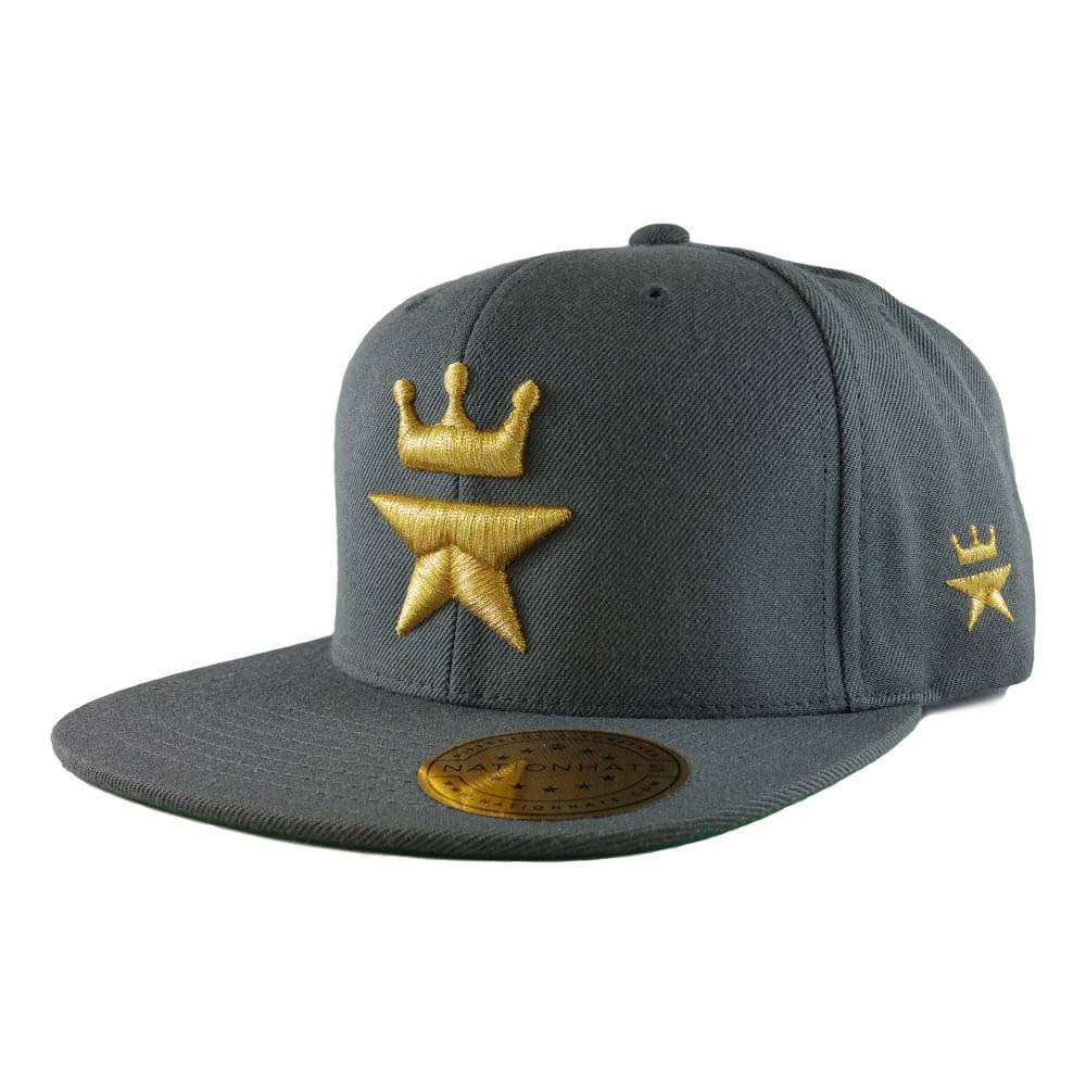 Original-Royal-Star-Collection-Classic-Snapback-6p-charcoal-iso