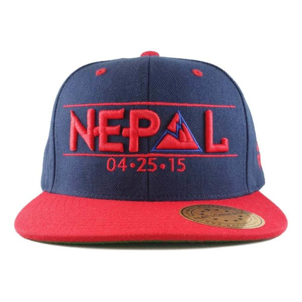 Nepal-earthquake-appeals-collection-classic-6p-snapback-navy-red