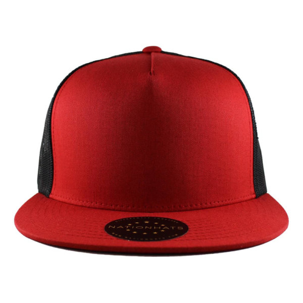 trucker-classic-red-black-blank