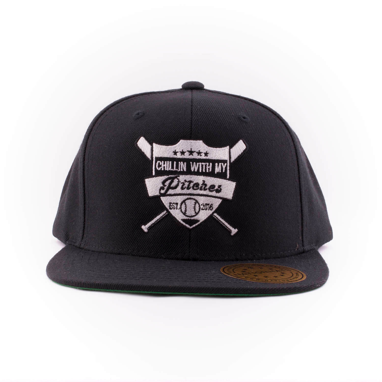 44975050e92 15209-pitches-6089m-classic-snapback-cap-yupoong-black-front ...