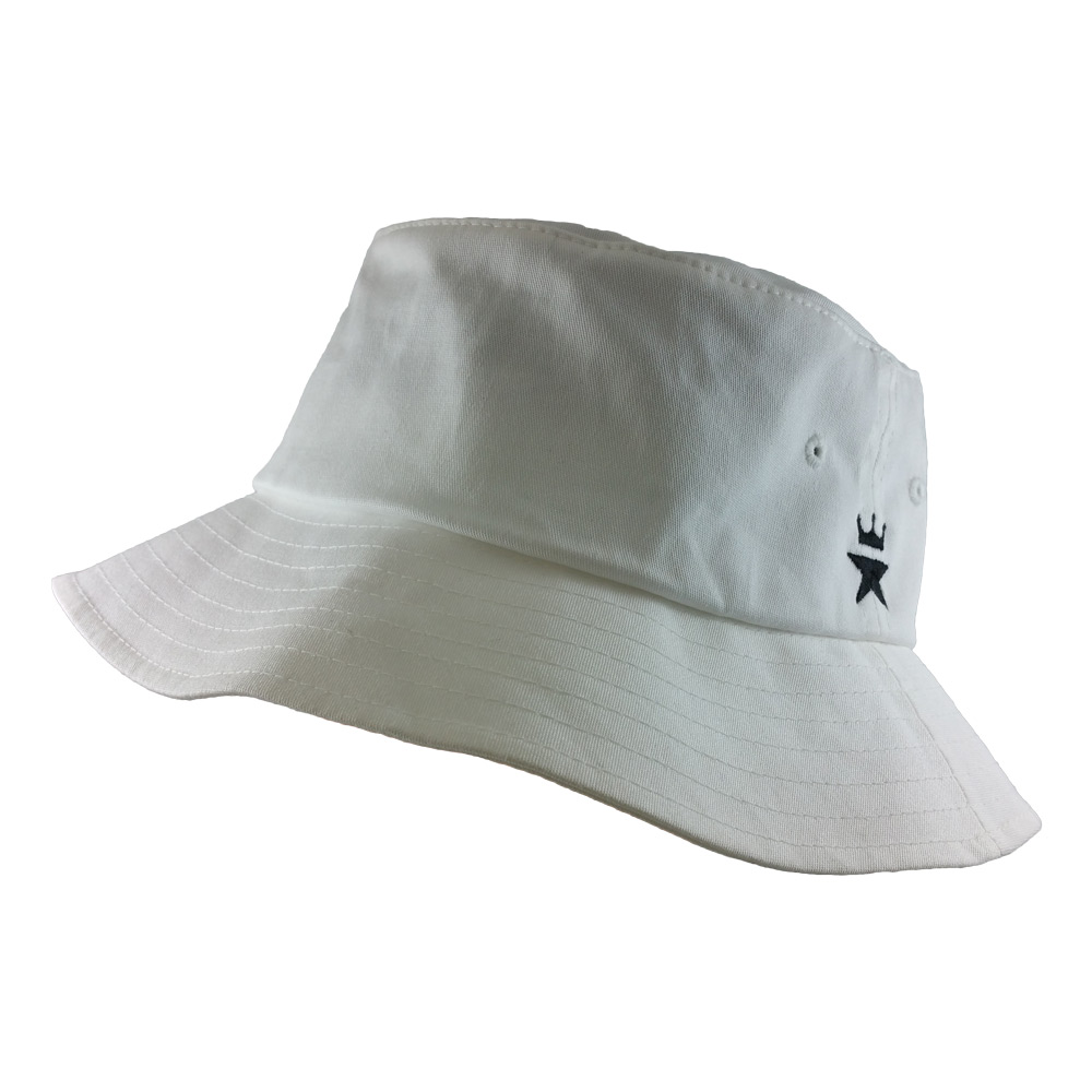 Little-Star-Flexfit-5003-Bucket-Hat-White-Iso