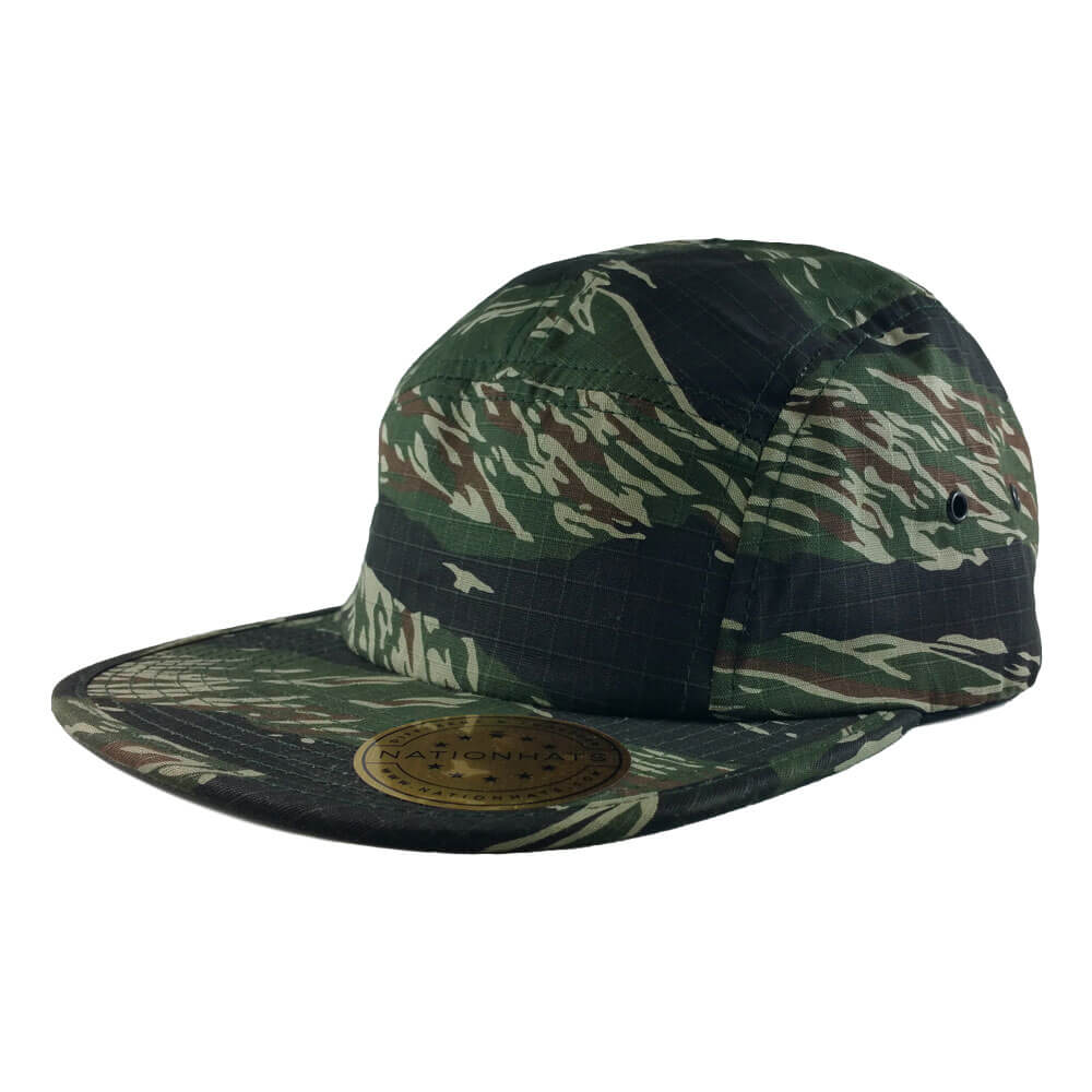Blank-Flexfit-7005-Classic-Jockey-Camper-Clipback-Cap-Camo-Iso