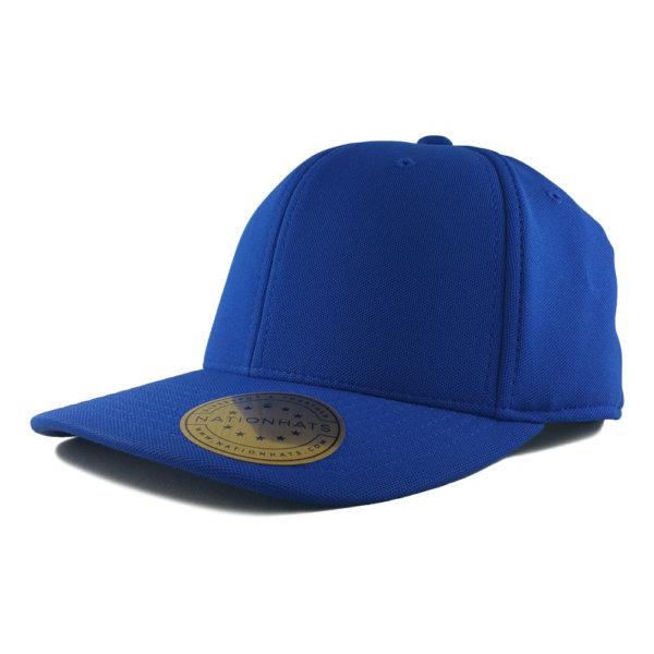 Blank-Flexfit-110P-One-Ten-Cool-Dry-Mini-Pique-Velcro-Cap-Royal-Iso