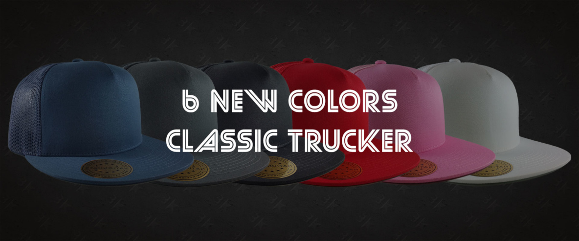 Classic Trucker Snapback Cap Mesh Full New Colors