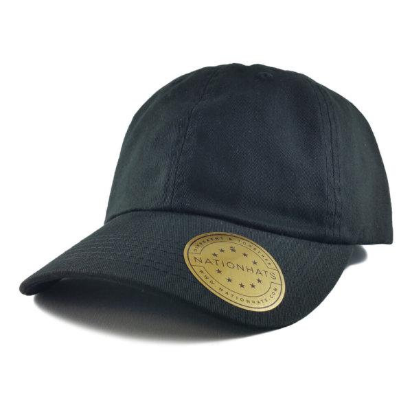 Sportsman-Valucap-Low-Profile-Cotton-Twill-Dad-Hat-VC300-Iso-Black