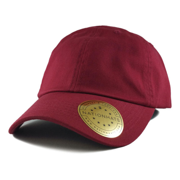 Sportsman-Valucap-Low-Profile-Cotton-Twill-Dad-Hat-VC300-Iso-Cardinal