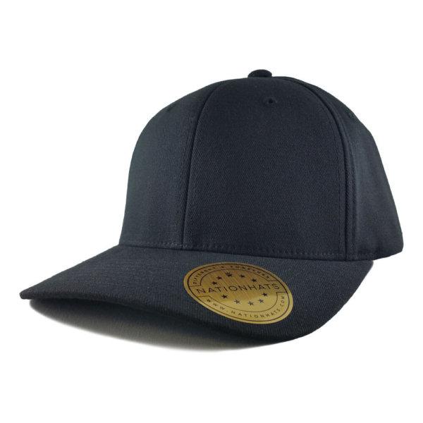 Blank-6580-Flexfit-Pro-Formance-Cap-Black-Iso