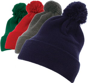 All Pom Pom Beanies Are 15% Off !